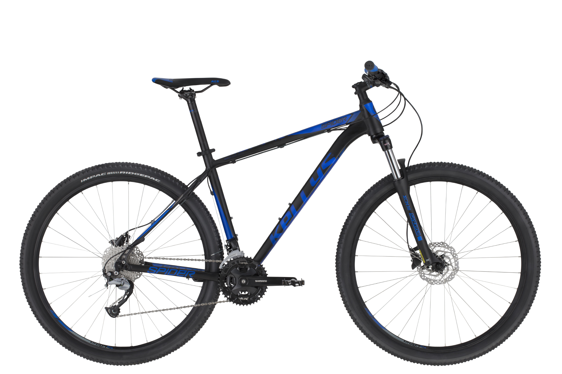 KELLYS Spider 50 Black Blue 2020