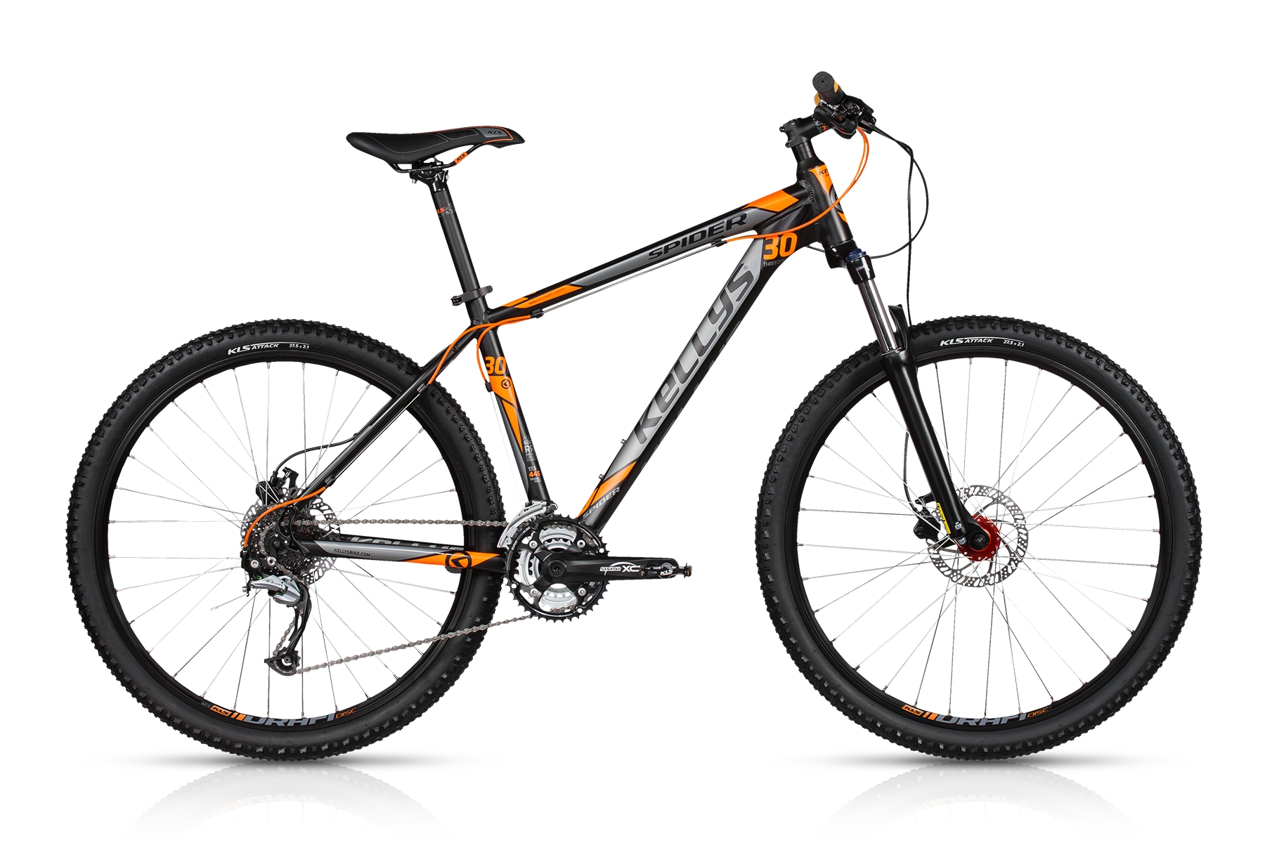 KELLYS Spider 30 Dark Orange 2017