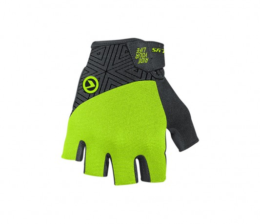 Rukavice KELLYS HYPNO, short, lime