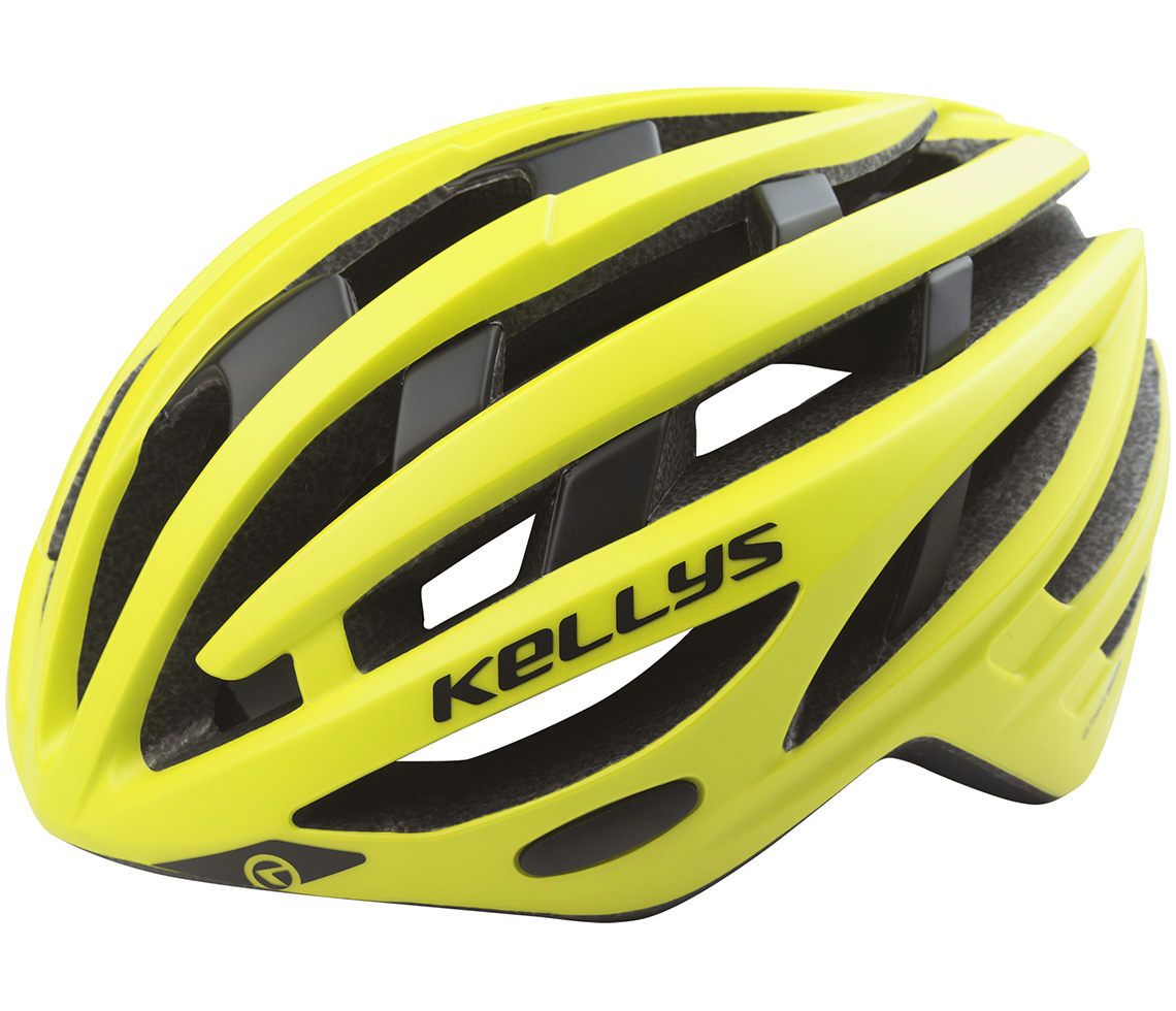 Přilba KELLYS SPURT neon yellow