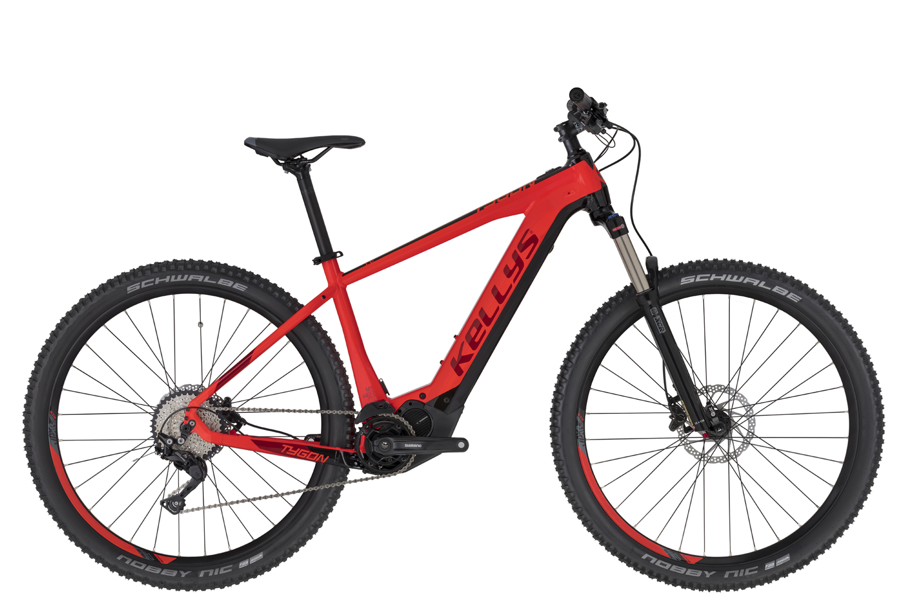 "KELLYS Tygon 50 Red 29"" 2020 630Wh"