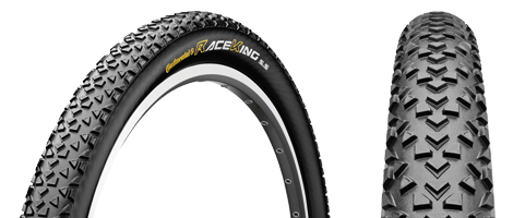 Plášť Continental Race King Supersonic 26x2,00 kevlar