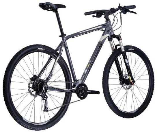 KROSS Hexagon 8.0 silver/black glossy  2021