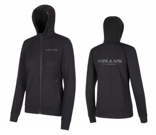 Mikina KELLYS WOMEN´S CHROMATIC HOODIE black