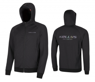 Mikina KELLYS MEN´S CHROMATIC HOODIE black