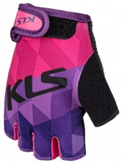Rukavice KLS YOGI short, purple